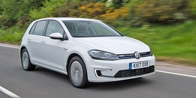 VW e-Golf Top 10 EVs UK