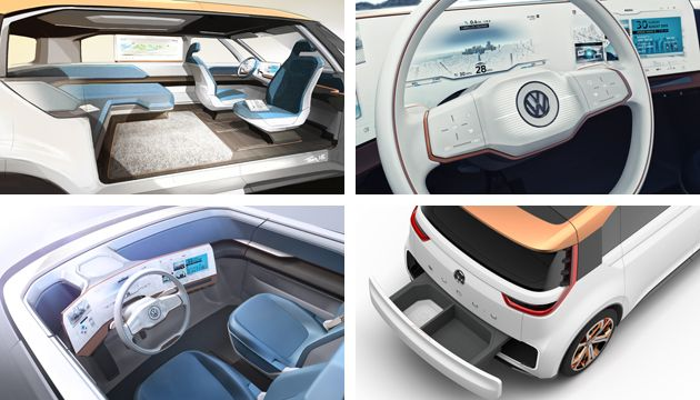 vw showcases ev future with budde concept next green car. Black Bedroom Furniture Sets. Home Design Ideas