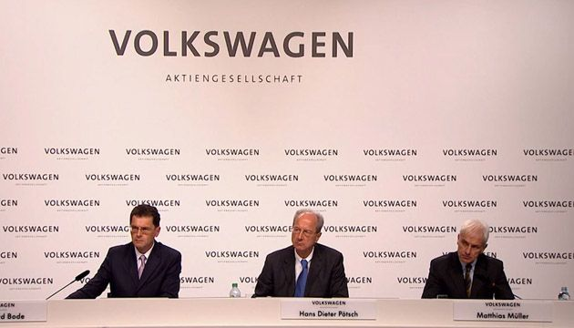 VW Group Press Conference