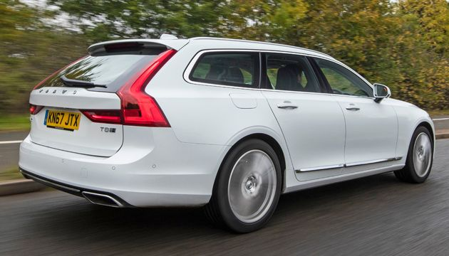 Volvo V90 T8 TwinEngine rear