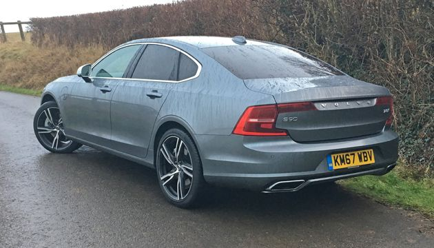Volvo S90 T8 TwinEngine rear