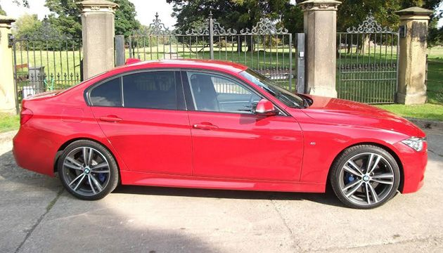 BMW 320d ED Sport side