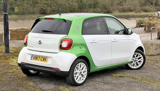 smart forfour ed rear