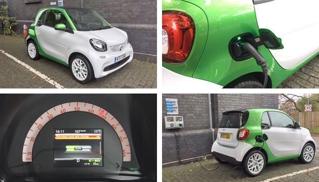 smart fortwo coupe ed charging