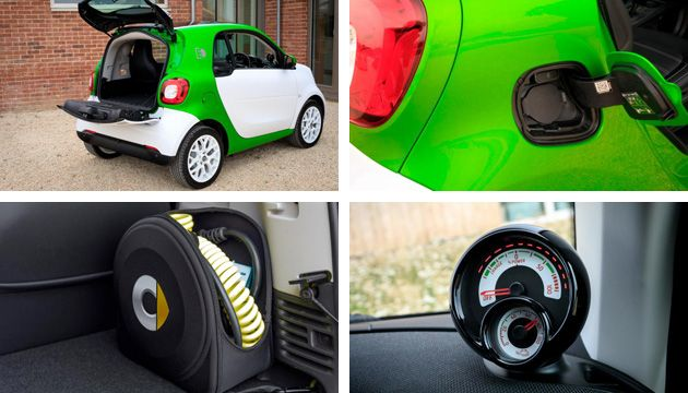 smart fortwo coupe ed details