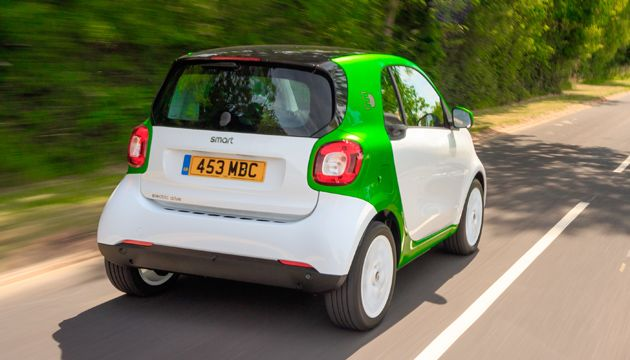 smart fortwo coupe ed rear