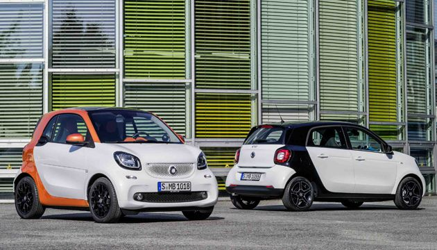 Both Of Smart S Urban Runabouts Will Get The Electric Treatment This Time Around As German Brand Looks To Make Most Its Fun Compact Cars