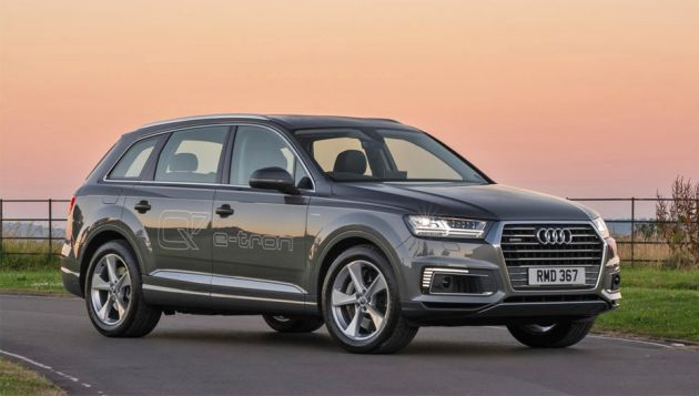 25 1 2018audi Q7 E Tron Review