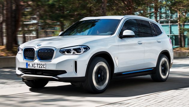 BMW iX3 launched in UK