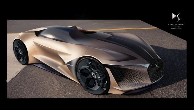 DS X E-Tense concept offers electric vision of future