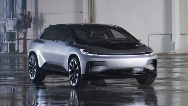 FF 91 launched at CES