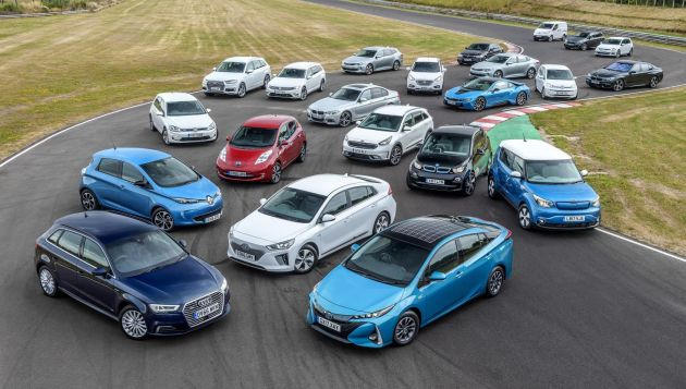 Plug-in car registrations break records in December