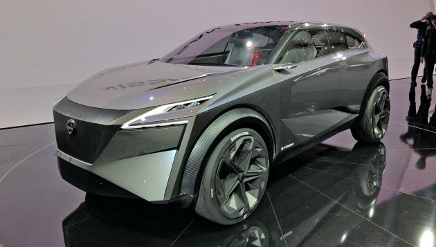 Nissan IMq concept launches e-Power in Europe