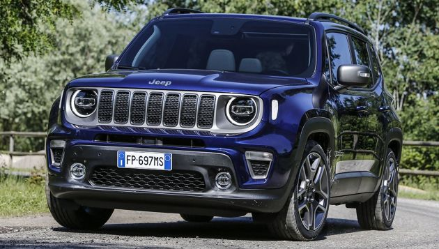 Jeep reveals Renegade plug-in plans