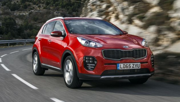 Kia Sportage 1.7 CRDi 2 Eco review