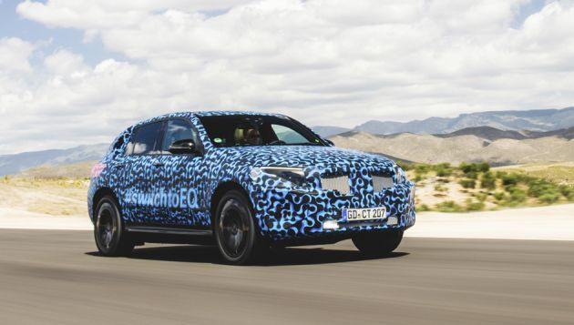 Mercedes Benz EQC set for September launch