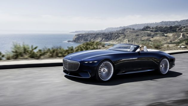 Showcasing luxury EV touring - Mercedes 6 Cabriolet