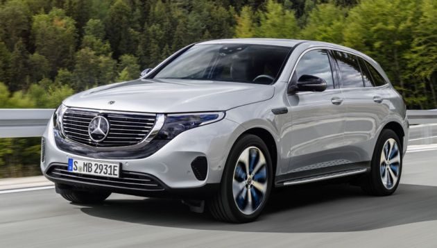 Mercedes Benz EQC available to order in UK