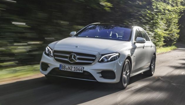 Mercedes launches new E-Class PHEV