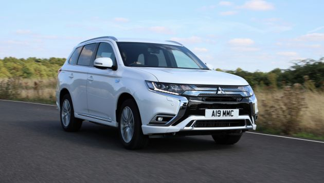 Mitsubishi Outlander PHEV leads UK EV sales charts