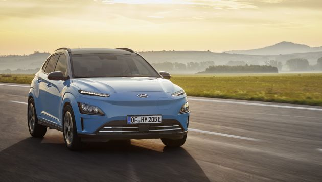 Hyundai Kona Electric gets a range of tech upgrades for 2021