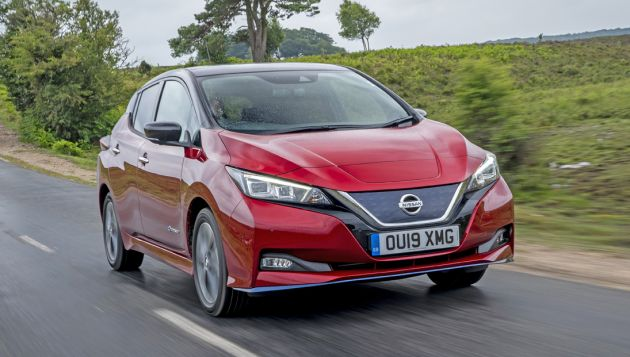 Nissan Leaf e+ first drive