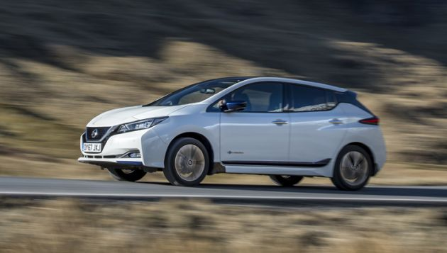 Nissan LEAF 40kWh first drive