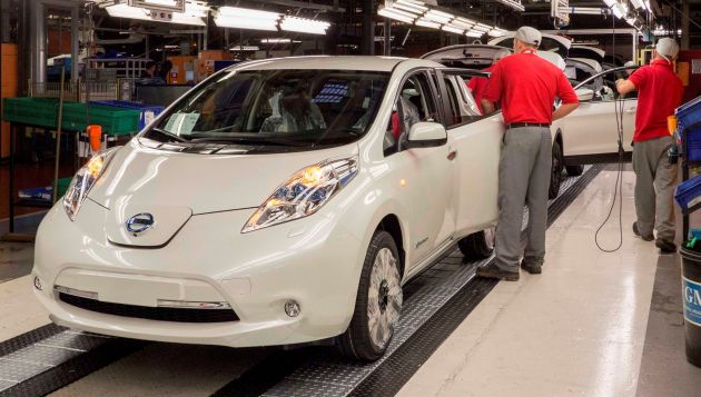Milestone Reached For Nissan Leaf Production In The Uk