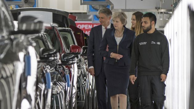 Theresa May addresses Zero Emission Vehicle Summit