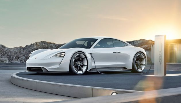 Porsche Mission E will be called Taycan