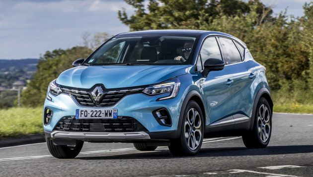 Renault launches E-Tech Captur and Megane PHEVs
