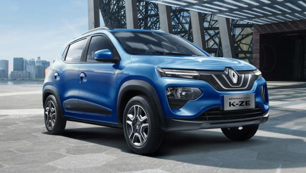 Renault launches K-ZE compact EV at Shanghai