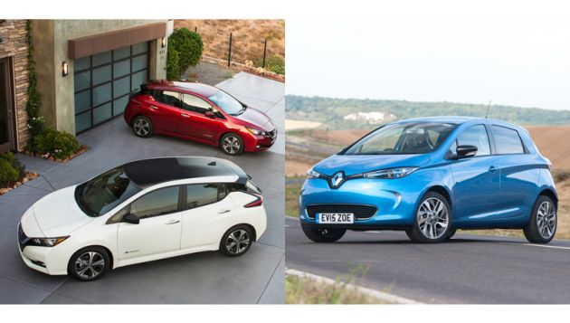 Renault and Nissan group steps up EV plans