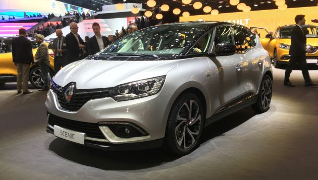Renault Scenic unveiled at Geneva