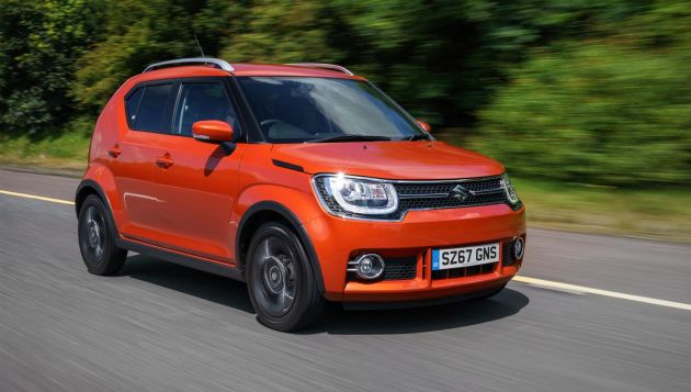 suzuki ignis shvs review next green car. Black Bedroom Furniture Sets. Home Design Ideas