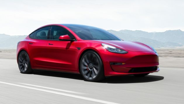 Tesla announces record deliveries of electric cars