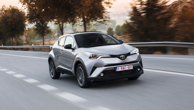 Toyota C-HR 1.2 Turbo review