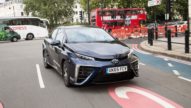 Toyota Mirai Added To Europcar Fleet Next Green Car