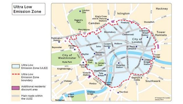 Auto industry urges London ULEZ rethink