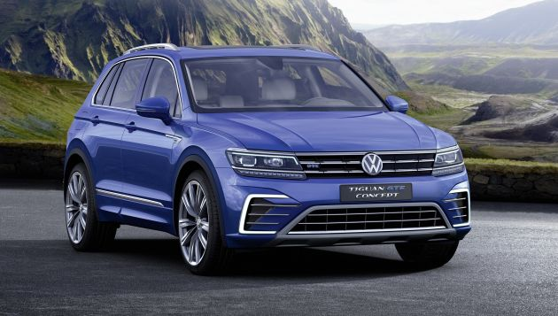 New Vw Tiguan Revealed With Phev Gte Model Next Green Car