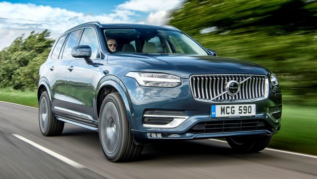 Volvo XC90 B5 (D) review