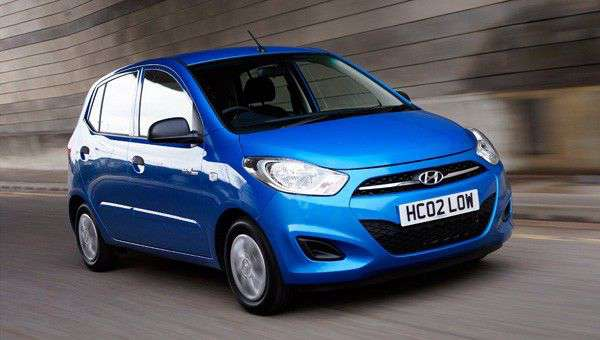 Hyundai i10 Blue review