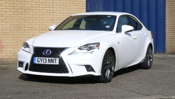 Lexus Is 300h F Sport Review