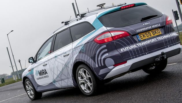 Driverless car trials begin across UK