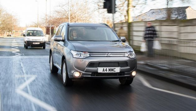 Mitsubishi PHEV gets 5 star safety results