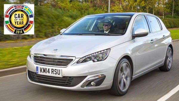 new peugeot 308 is car of the year 2014 next green car. Black Bedroom Furniture Sets. Home Design Ideas