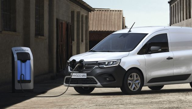 Renault reveals first details of new electric Kangoo