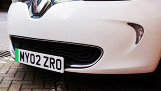 EVs to get green number plates from autumn 2020