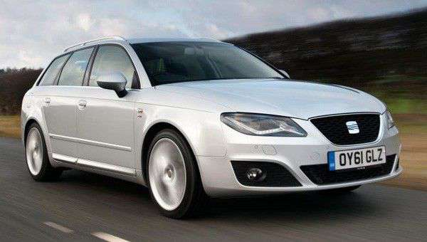seat exeo sport tourer ecomotive review next green car. Black Bedroom Furniture Sets. Home Design Ideas