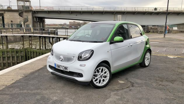 Smart Forfour Ed Review Next Green Car